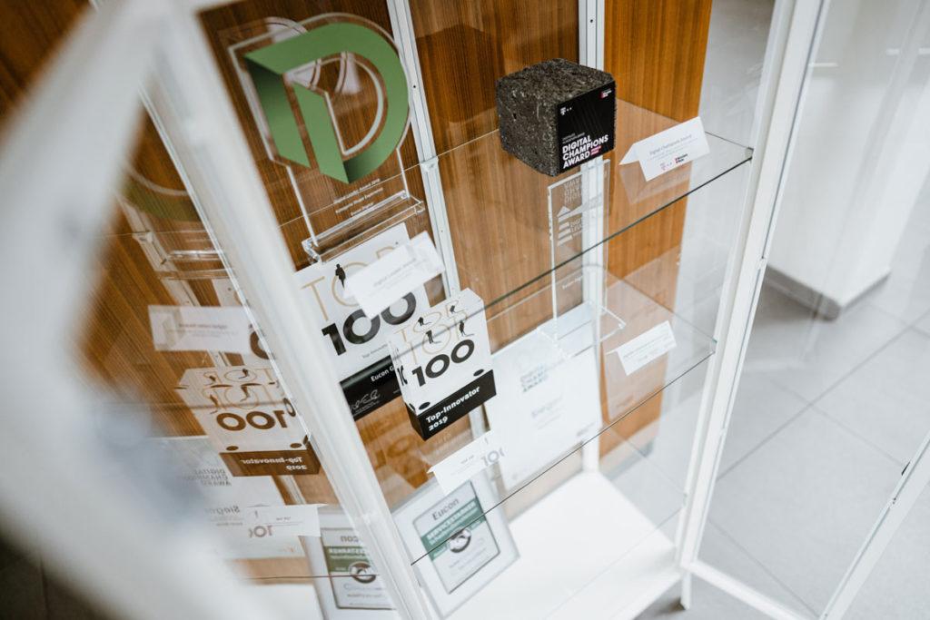 Erst im Dezember ist das Unternehmen mit dem Innovationspreis Münsterland in der Kategorie Digitale Geschäftsmodelle ausgezeichnet worden.
